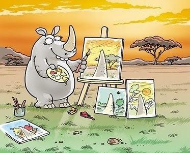La visión del rinoceronte
