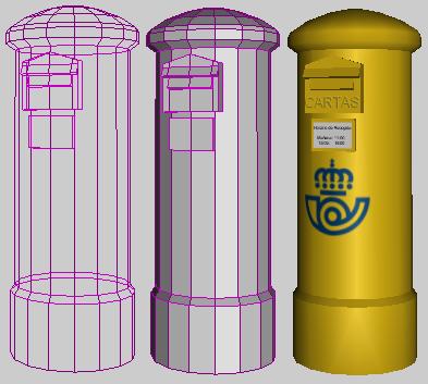 Modelado de un buz n de correos con wings3d inmensia - Buzon de correos ...