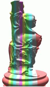 WebGL - Split mesh